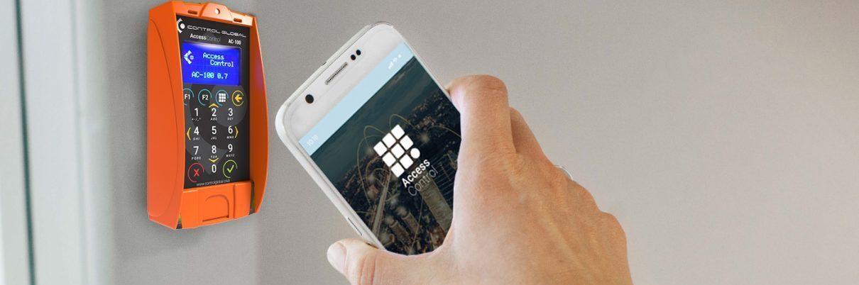 dispositivo de control de acceso móvil